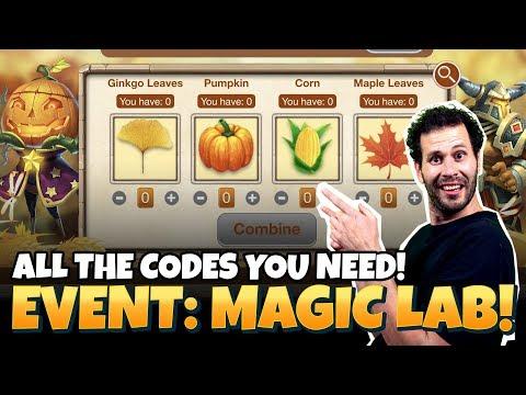 Magic Lab: CODES YOU NEED! Castle Clash