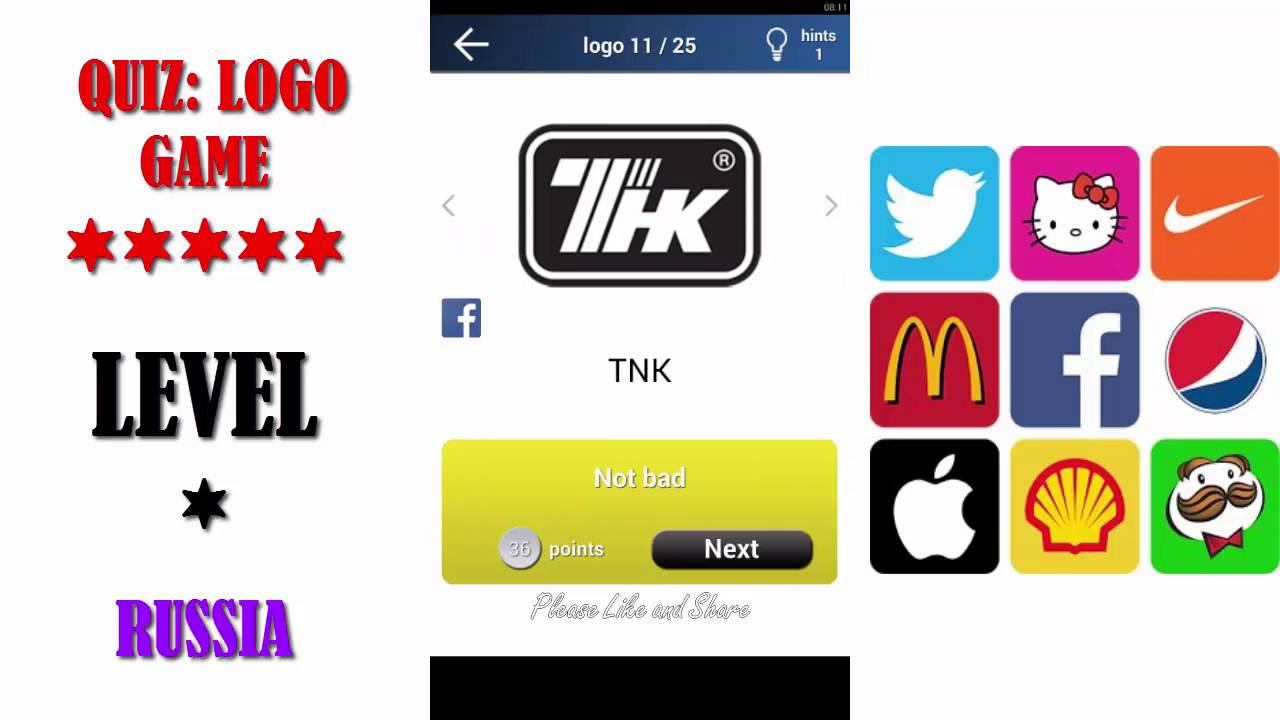 Quiz Logo Game Russia All Answers Walkthrough By Lemmings At