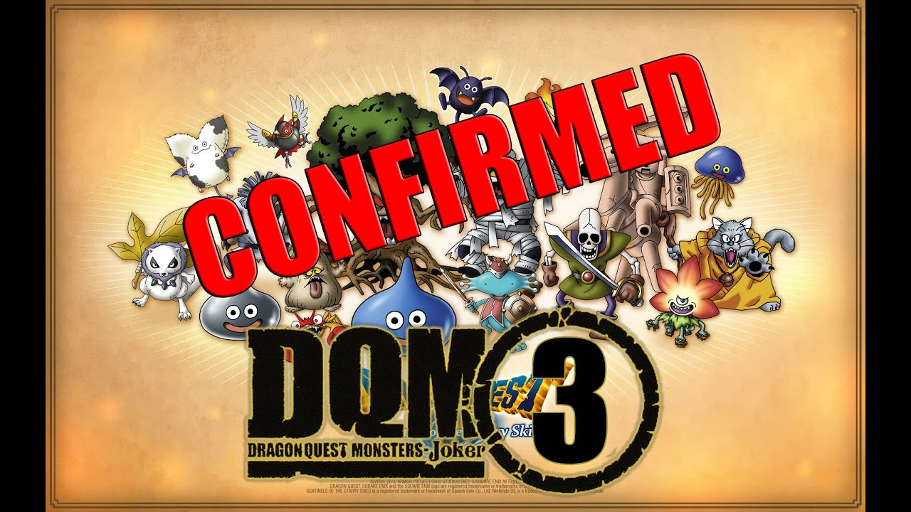 Dragon Quest Monsters 3ds – HD Wallpapers