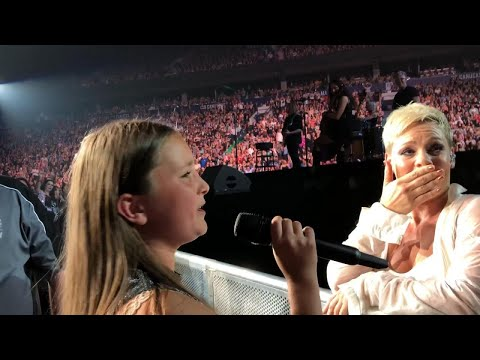12-Year-Old Superfan Wows P!nk During...
