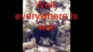 Bob Marley   The Wailers live - War No More Trouble