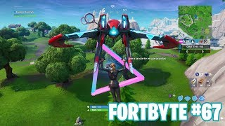 Fortnite Battle Royale ? Fortbyte Challenges How to get the Fortbyte #67