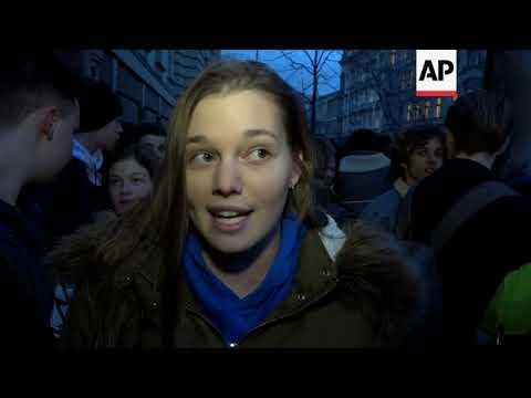 Students rally in Budapest to demand education reform