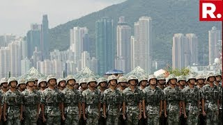 China Deploys Fresh Troops Into Hong Kong Amid Protests, Calls It A Routine Rotation