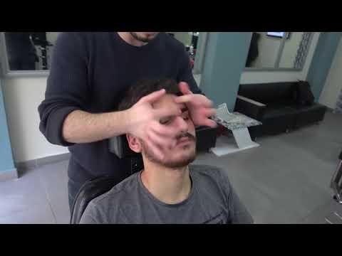 Turkish Barber Massage Therapy | Head Massage | Face Massage | Unintentional ASMR