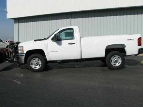 For Sale in Aurora, IL Snow Plow New 2012 Silverado 2500 Truck at Ron Westphal Chevrolet