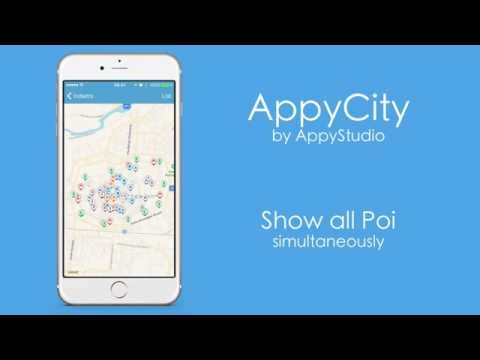 appyCity - XCode iOS Map App Template for City Guide