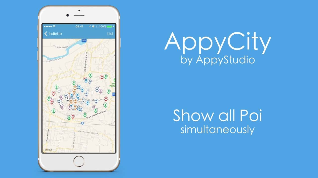 appyCity - XCode iOS Map App Template for City Guide - YouTube