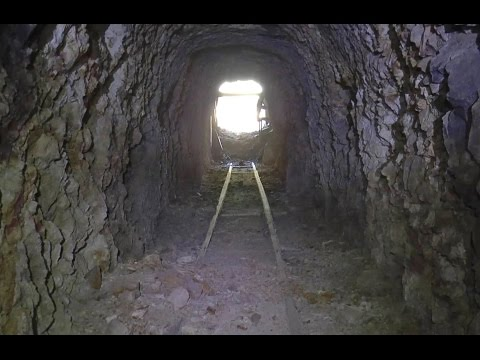 Underground in the Abandoned Florence Mine