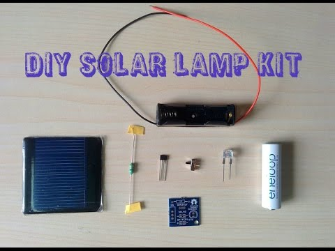 ASSEMBLING OF DIY SOLAR LAMP KIT