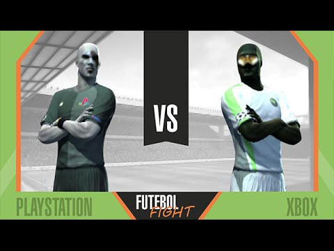Playstation vs Xbox - Futebol Fight