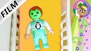 Playmobil Film: Emma vomita nel letto! Nessuno deve notarlo...
