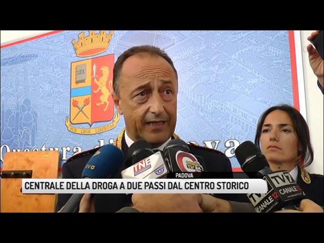 TG PADOVA (09/10/2018) - CENTRALE DELLA DROGA A DUE PASSI DAL CENTRO STORICO #1