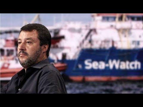 Italy's National Populist Gov't ARRESTS Activist Captain of Migrant Ship!!!