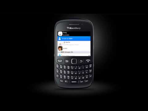 BlackBerry Messenger BlackBerry Curve 9220