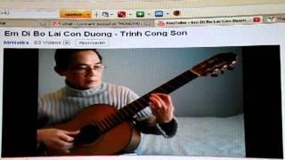 MONGTHUY  -  EM DI BO MAC CON DUONG  -  TRINH CÔNG SON