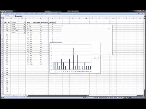 Excel Histogram - statistics