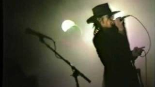 """The Sisters Of Mercy """"Train"""" Live at London's Royal Albert Hall 1985"""