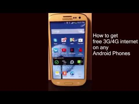 How To Use Free Internet on Mobile   How to get free 3G/4G internet on any Android Phones (Easy way)