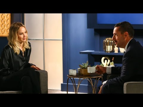 Jennifer Lawrence and Adam Sandler Discuss Why They Avoid Reviews of Their Movies