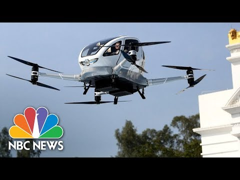 World's First Passenger Drone Unveiled In China | NBC News