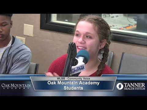 Community Voice 3/2/20 - Oak Mountain Academy Students