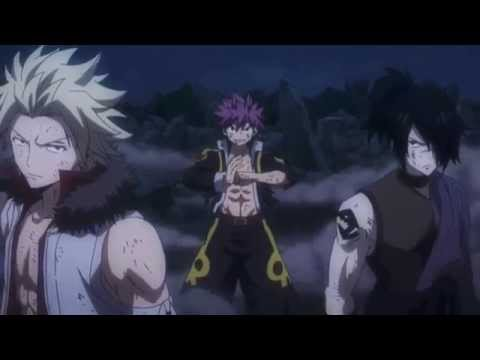 Fairy Tail [AMV] Natsu, Sting and Rogue Vs  Mard Geer