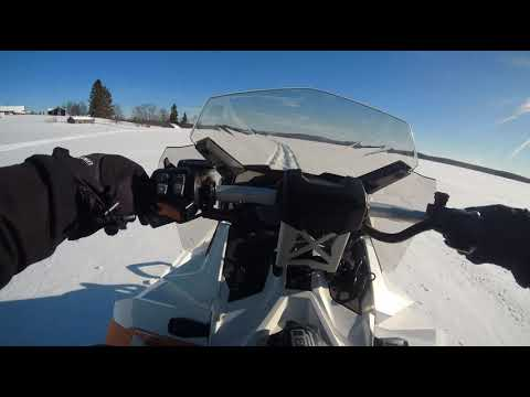 Ski Doo 600 Ace | Full Throttle | Lapland Finland | Sjcam 8 Pro