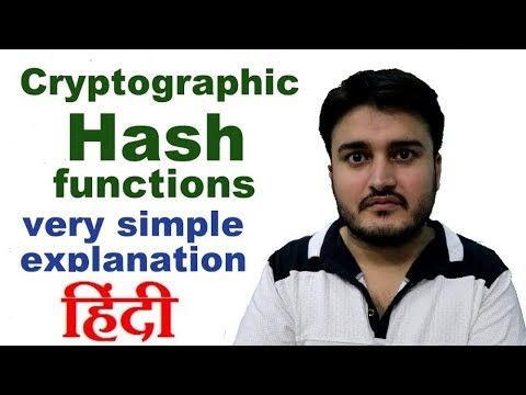 Cryptographic Hash functions - how your passwords and other credentials are stored in databases