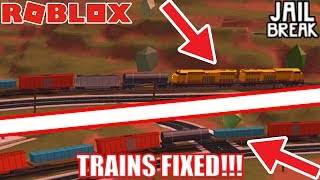 TRAINS are FIXED!!! [NEW GRINDING STRATEGY] | Roblox Jailbreak