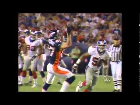 Ed McCaffrey Injury - September 10, 2001