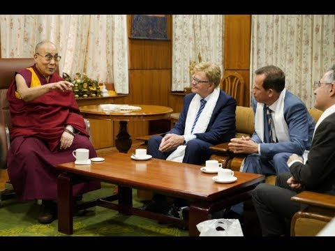 His Holiness the Dalai Lama of Tibet meets EP delegation on