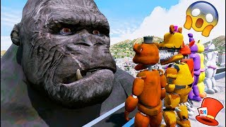 animatronics vs giant king kong gta 5 mods for kids fnaf redhatter