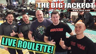 🔴 Live Roulette Second Time Ever Seen Live💣 | The Big Jackpot