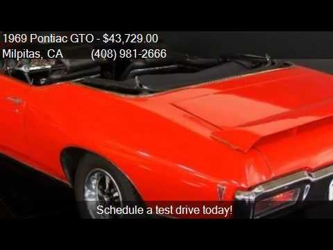 1969 Pontiac GTO GTO for sale in Milpitas, CA 95035 at NBS A