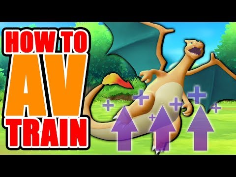How to AV Train in Pokemon Let's GO Pikachu + Eevee (GUIDE)