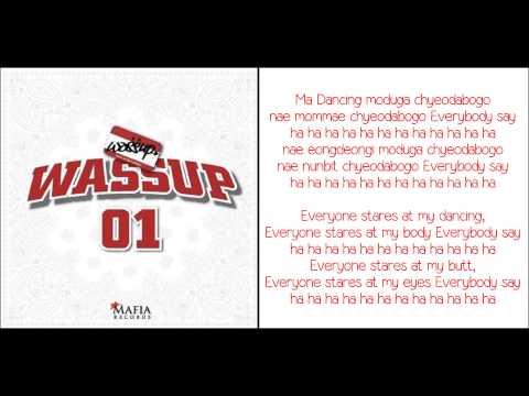 [ROM + ENG] Wa$$up - Wassup Lyrics
