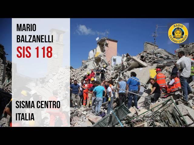 Intervista Mario Balzanelli SIS 118