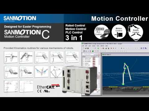 Designed for Easier Programming - SANMOTION C Motion Controller ATC Robot