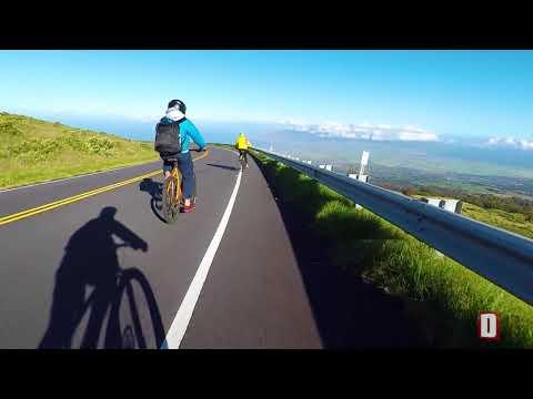 """Haleakala Park, Maui - """"Maui Bike Company"""" Tour"""