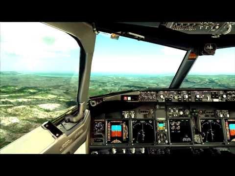 "FSX ""FULL HD"" landing LFML Marseille airport""jetstream"" no overclock!!"