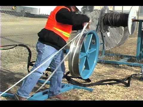 Condux Fiber Optic Cable Puller Youtube