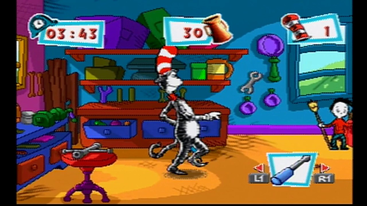 Letu0027s Play Cat In The Hat (PSX) #2: The Definition Of Lazy (The Finale)