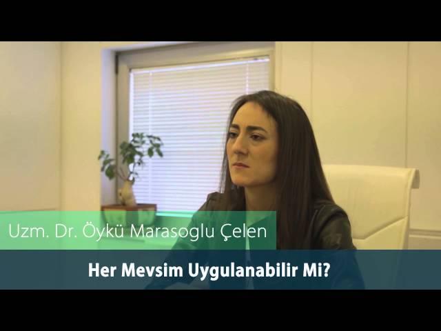 Dr. Öykü Maraşoğlu Çelen - Botoks Her Mevsim Uygulanabilir mi ?