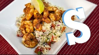 Harissa Prawns With Bulgar Wheat Recipe - Sorted