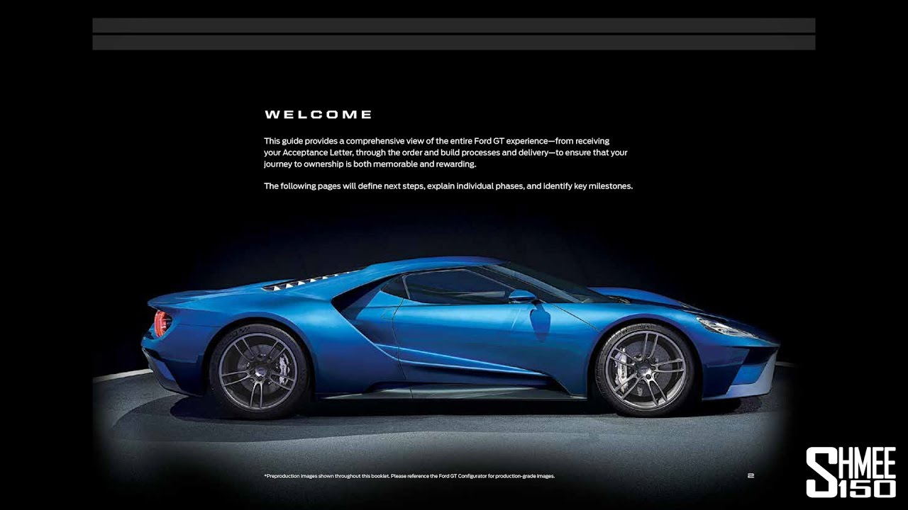 How Does The Ford Gt Order Process Work