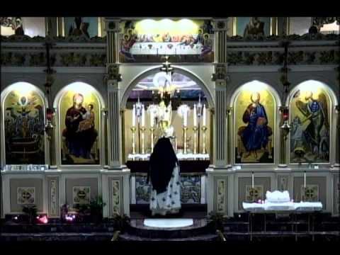 Sunday of  Judgment Sunday (Meatfare Sunday) Divine Liturgy 3/06/16 at Assumption Panagia Greek Orth