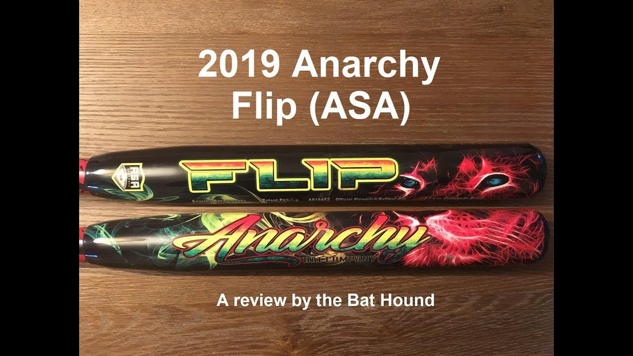 2019 Anarchy Flip (ASA) - Bat Review and Comparisons