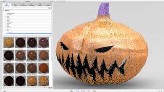 استخدام الحافة الصلبة و KeyShot لخلق 3D جاك يا فانوس نموذج التقديم