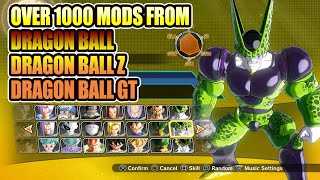 The Largest Modded Roster You Could Ever Wish For -  Dragon Ball Xenoverse 2 Mods